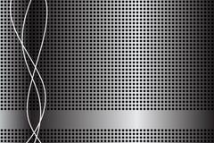 抽象背景电池金属 免版税库存照片