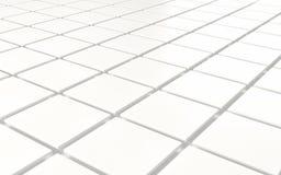 抽象背景白色攀爬立方体 3d回报 免版税库存图片