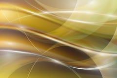 抽象背景的例证与被弄脏的轻的弯曲的线的 库存例证