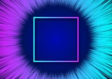 抽象背景的现代五颜六色的流程 向量例证