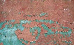 抽象背景破裂的油漆纹理 免版税库存照片