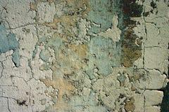抽象背景破裂的grunge老油漆 免版税库存照片