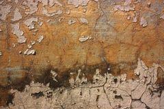 抽象背景破裂的grunge老油漆 免版税库存图片