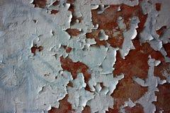 抽象背景破裂的grunge老油漆 图库摄影