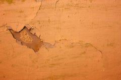 抽象背景破裂的grunge老油漆 免版税图库摄影