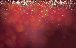 抽象背景红色向量 库存图片