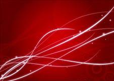 抽象背景红色墙纸 免版税库存图片
