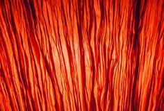 抽象背景红色照明设备behide transparenc fabrick 免版税库存照片