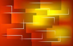 抽象背景红色黄色 免版税库存照片