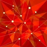 抽象背景红色 免版税库存图片