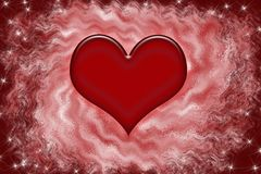 抽象背景红色serce 库存照片
