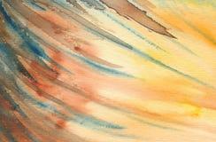 抽象背景绘画 免版税库存照片