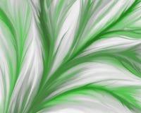抽象背景绿色叶子 库存例证