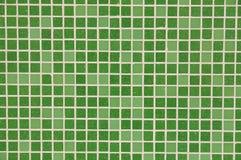 抽象背景绿色瓦片 免版税图库摄影