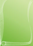 抽象背景绿色 免版税库存图片