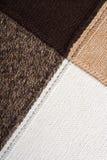 抽象背景编织了纺织品 免版税图库摄影