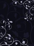 抽象背景花卉向量 库存例证