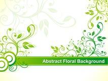 抽象背景花卉绿色 库存照片