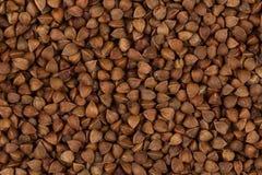 抽象背景荞麦食物纹理 免版税图库摄影