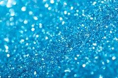 抽象背景蓝色例证闪闪发光 库存照片