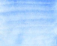 抽象背景蓝色做的自水彩 库存图片