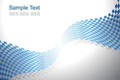 抽象背景蓝色向量 库存照片