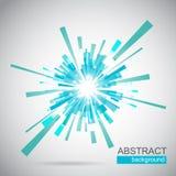 抽象背景蓝色向量 免版税图库摄影