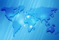 抽象背景蓝色商业 免版税图库摄影
