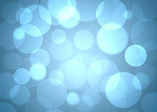 抽象背景蓝色圈子 免版税图库摄影
