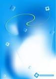 抽象背景蓝色垂直 免版税图库摄影