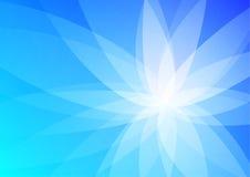 抽象背景蓝色墙纸 免版税库存照片