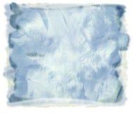 抽象背景蓝色水彩 库存照片
