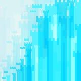抽象背景蓝色高城堡 免版税库存照片
