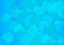 抽象背景蓝色 图库摄影