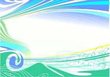 抽象背景蓝色eps 库存图片