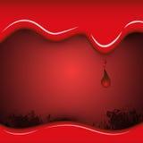 抽象背景血液 库存图片