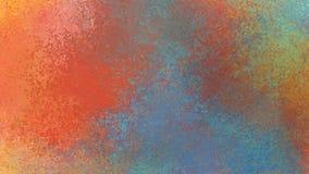 抽象背景设计以五颜六色的橙色金子黄色蓝绿色和红色 向量例证