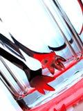 抽象背景设计冰 图库摄影