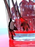 抽象背景设计冰 免版税库存照片