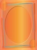 抽象背景边界色的框架 免版税图库摄影