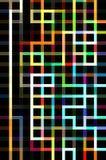 抽象背景迷宫 免版税图库摄影