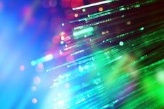 抽象背景通信纤维光学 库存照片