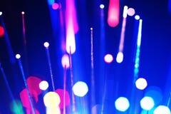 抽象背景通信纤维光学 库存图片