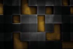 抽象背景金属 图库摄影