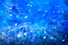抽象背景音乐 免版税库存图片