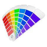 抽象背景颜色设计调色板 库存照片
