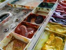 抽象背景颜色设计调色板 库存图片