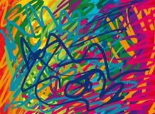 抽象背景颜色 免版税库存图片
