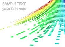 抽象背景马赛克 向量例证