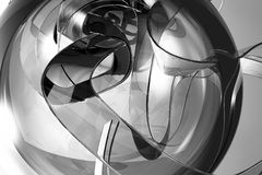 抽象背景黑白照片 向量例证
